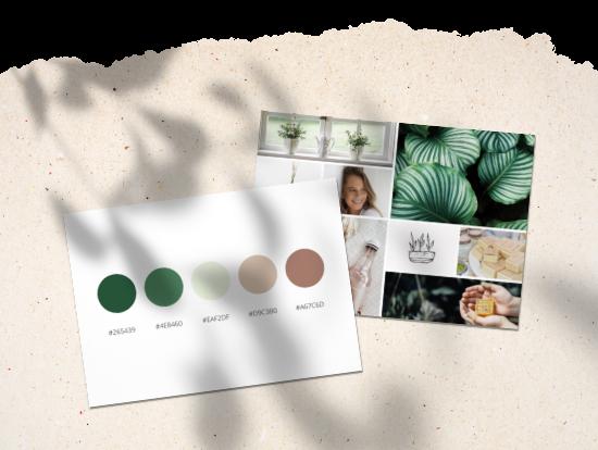 Créer une palette de couleurs pour son identité visuelle - Marie-Ange Vollard